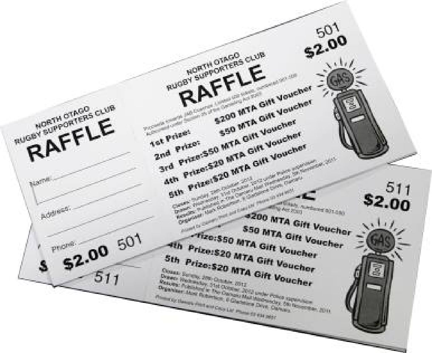 where to get raffle tickets printed